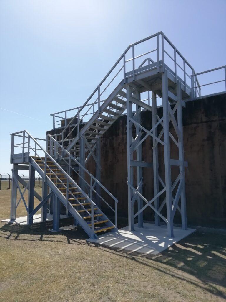 Staircase at RAF Lakenheath